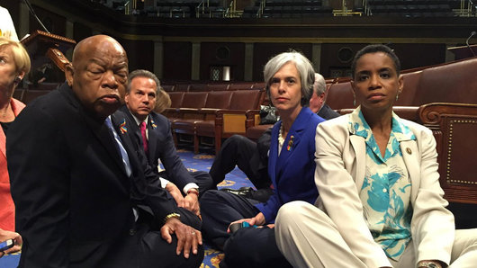 Congress sit-in