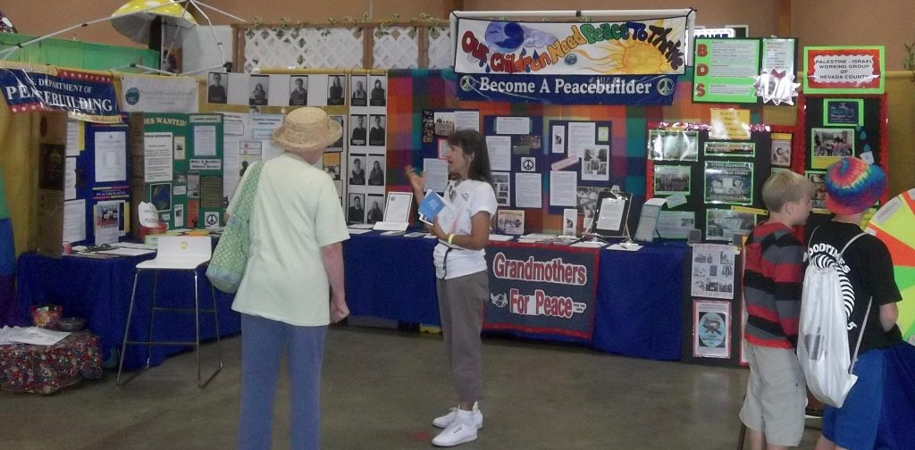 Peace & Justice Booth