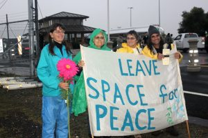 leave space for peace