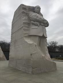 MLK carving