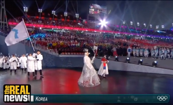 N S Korea Athletes