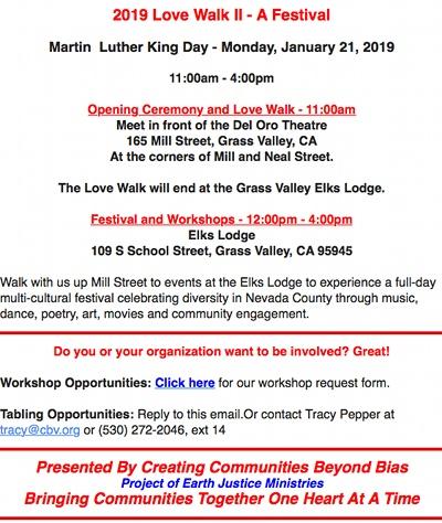 Love Walk - MLK Day